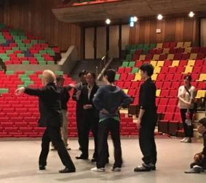 На репетиции с Токио балетом в Токио Бунка-Кайкан-2